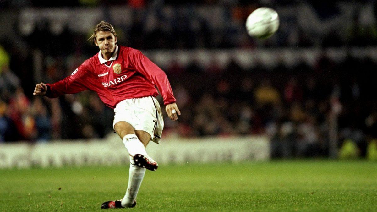 Treble 98 99 Bagaimana Cross David Beckham Membantu