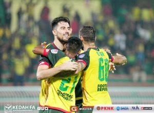 Bauman Edgar Fayadh Kedah Negeri Sembilan Piala Malaysia