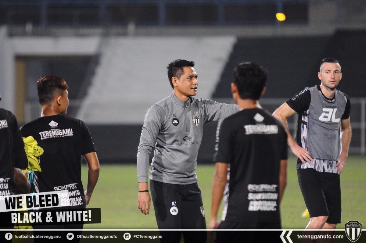Nafuzi Zain Terengganu FC Piala Malaysia