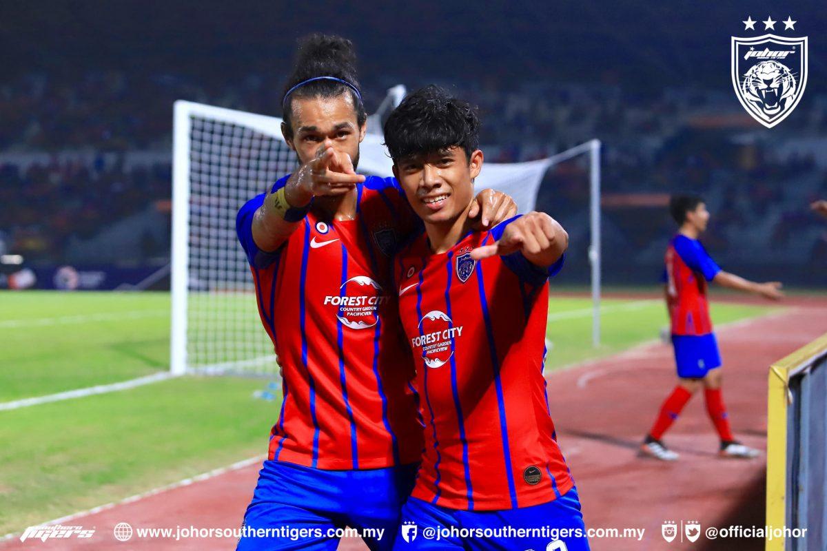 Syafiq Ahmad Corbin Ong JDT PJ City Piala Malaysia