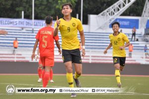 Hadi Fayyadh Malaysia Myanmar Sukan SEA 2019