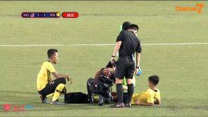 Malaysia Myanmar Sukan SEA 2019 Umar Hakeem Adam Nor