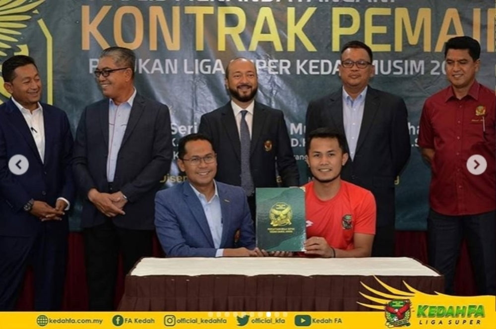 Hadin Azman Kedah FA 2019