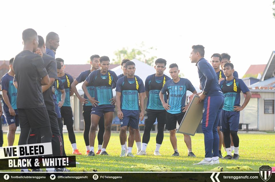 Nafuzi Zain Terengganu FC 2020 Latihan