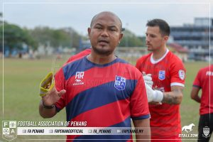 Akmal Rizal Pulau Pinang Liga Premier 2020 latihan