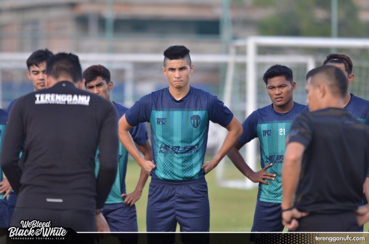 Christopher Fayers Terengganu FC 2020 Latihan