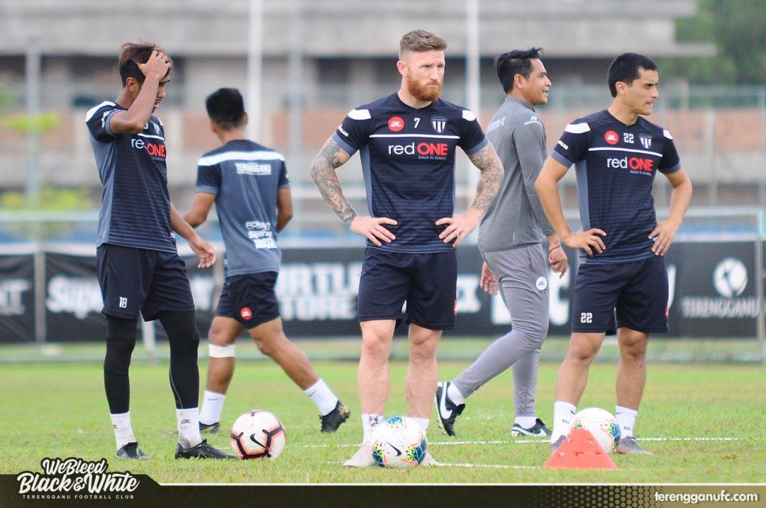 Lee Tuck Sanjar Shaakhmedov Terengganu FC