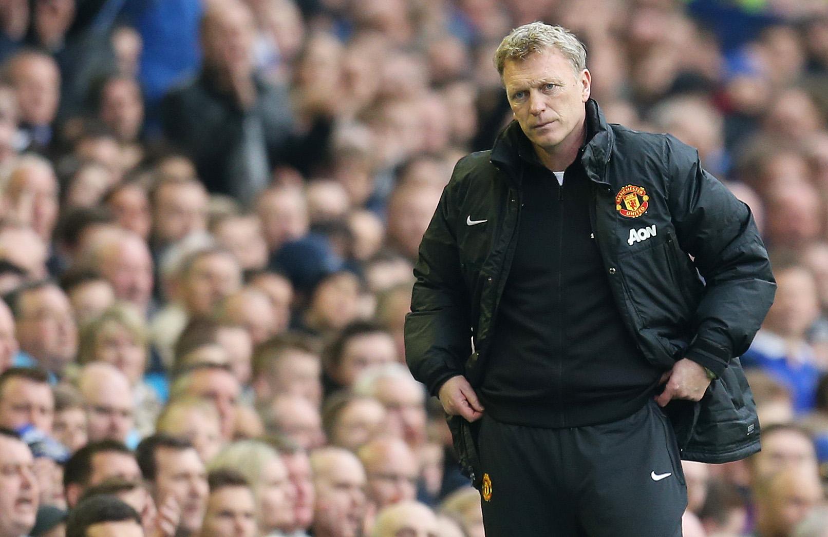 David Moyes Man United 2013