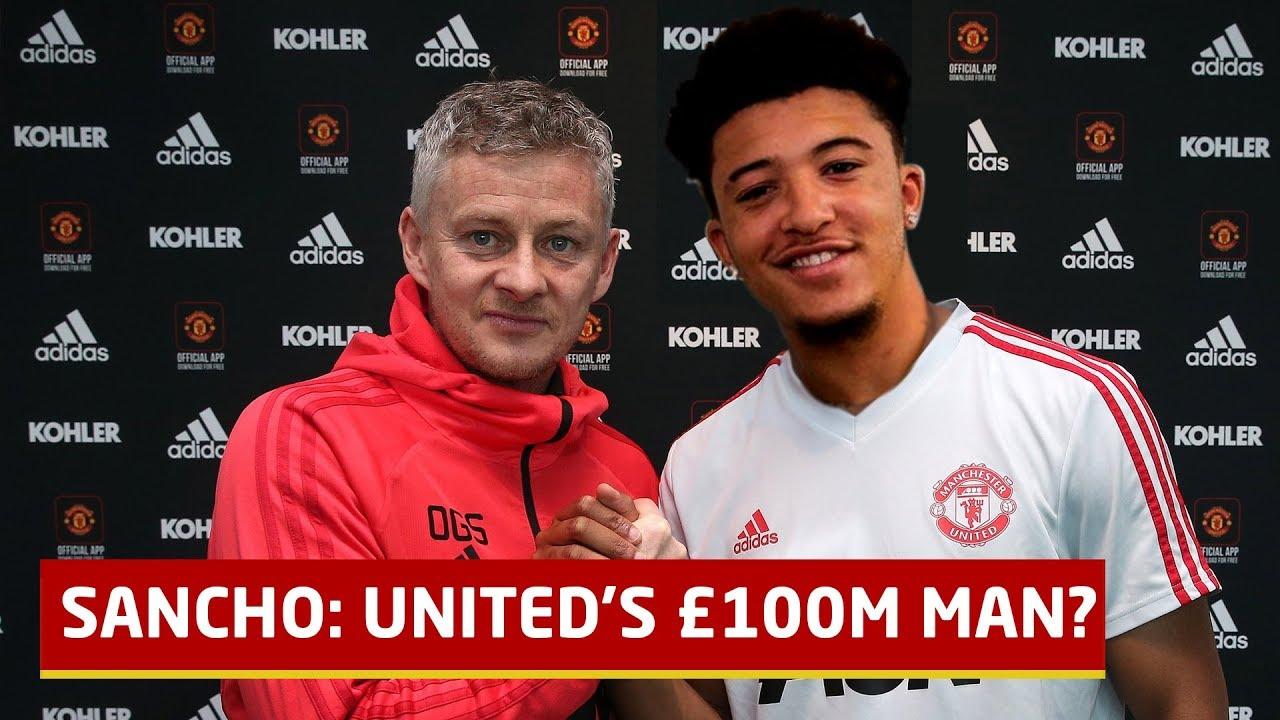 Jadon Sancho Manchester United Transfer Target