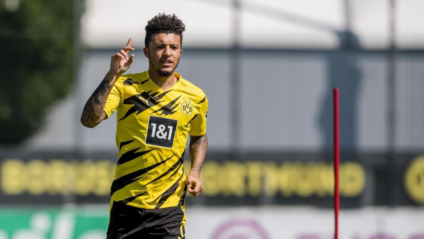 Jadon Sancho Borussia Dortmund Manchester United