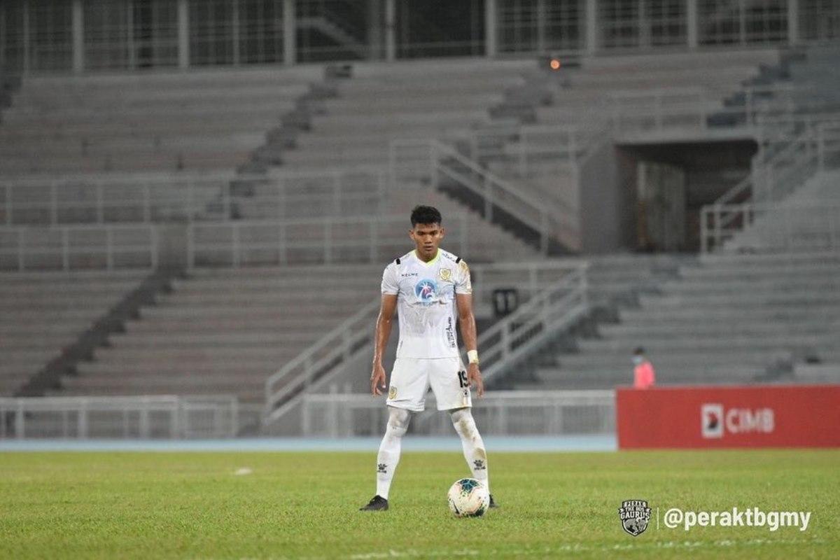 Shahrel Fikri Perak Pahang Liga Super 2020 kasut emas