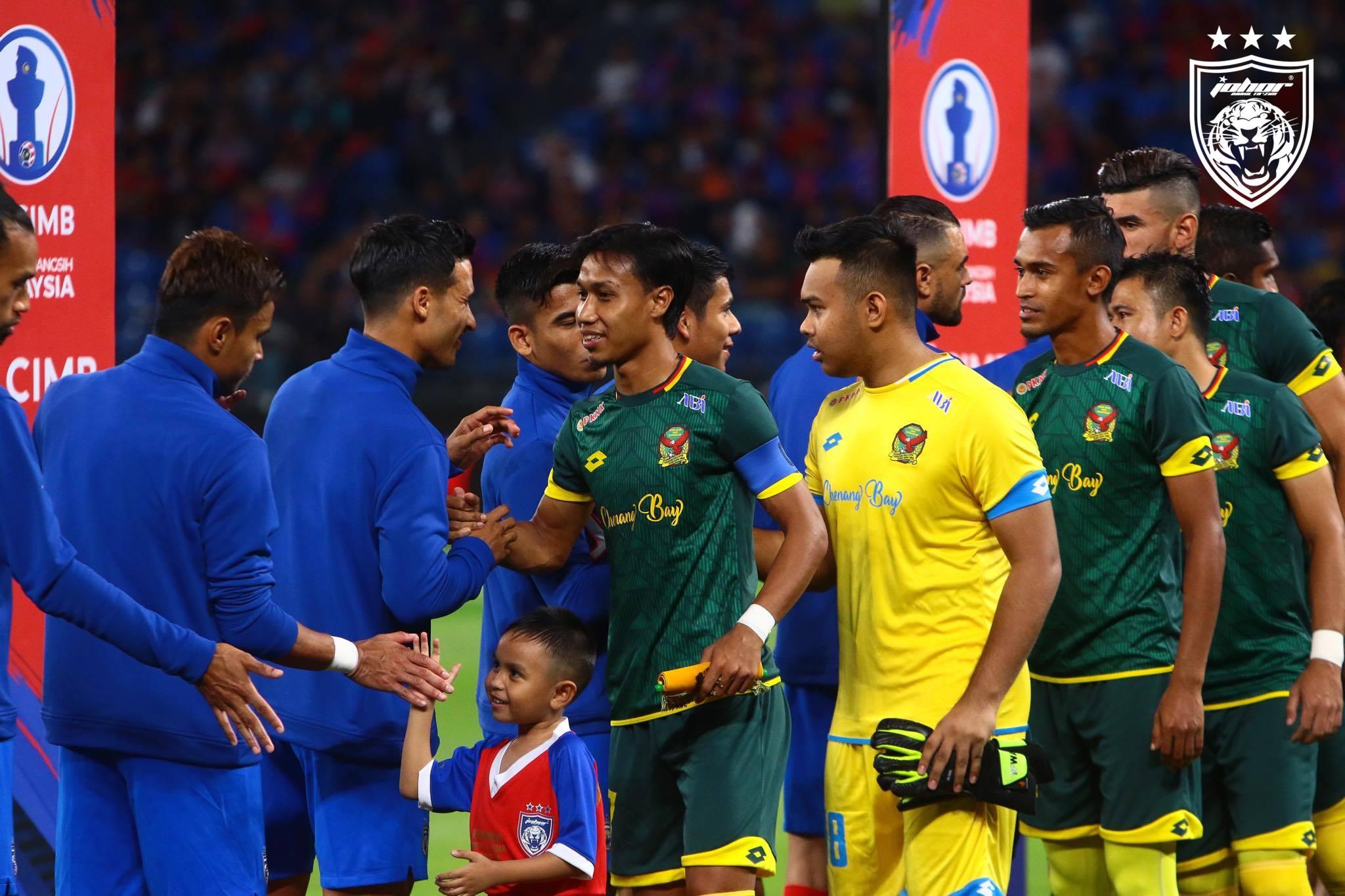 JDT Kedah Piala Sumbangsih Liga Super 2020 2021