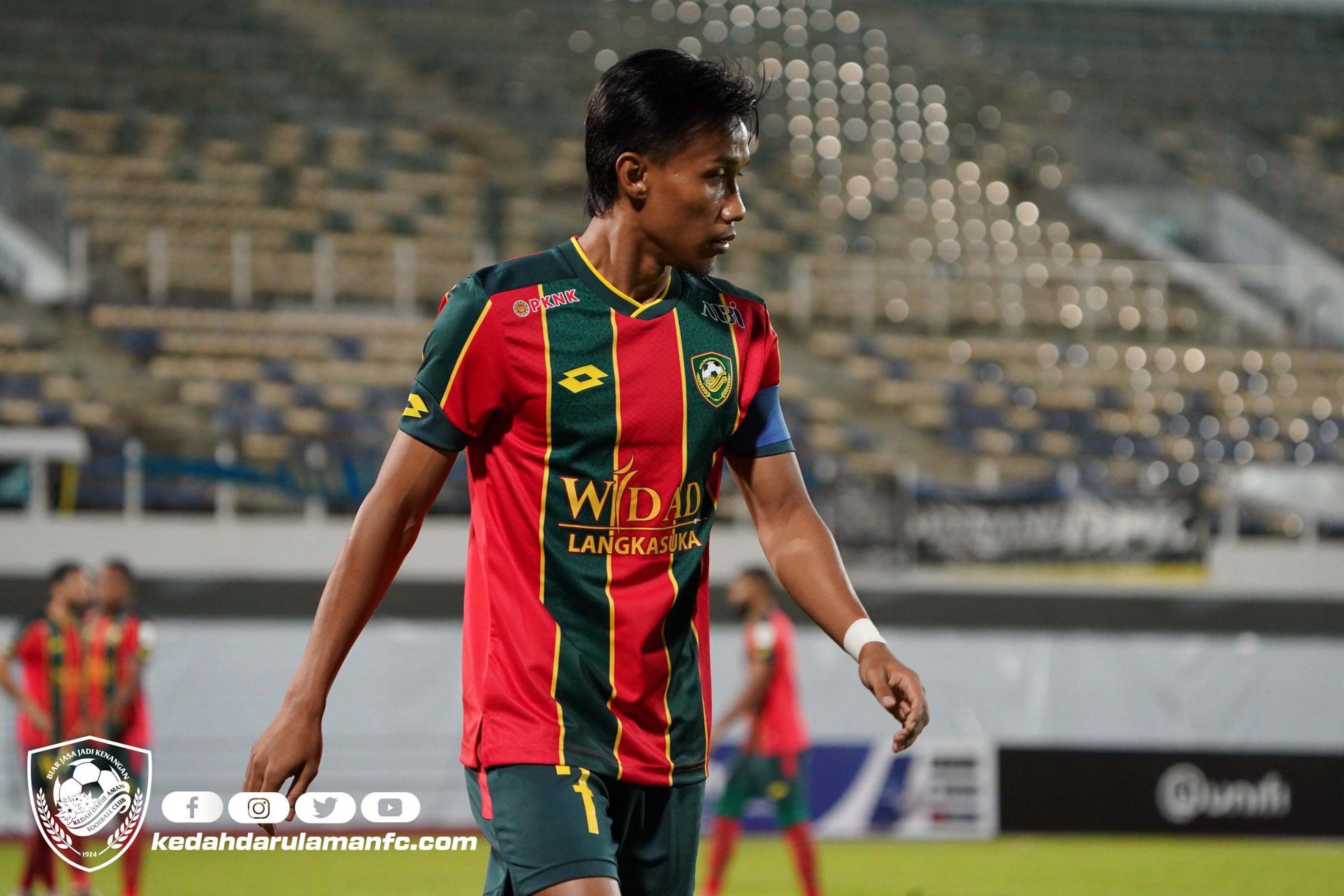 Baddrol Bakhtiar Kedah Penang FC 2021 prestasi