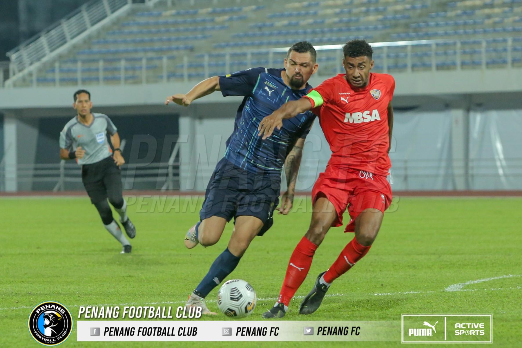 Casagrande Penang FC UiTM FC 2021 serangan Tomas Trucha