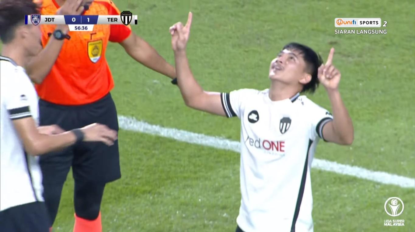 Hakimi Abdullah Terengganu JDT Liga Super