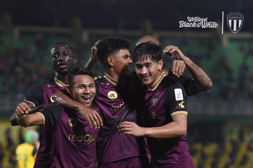 Makan Konate, Faisal Halim, Hakimi Abdullah Terengganu Kedah 2021 keputusan