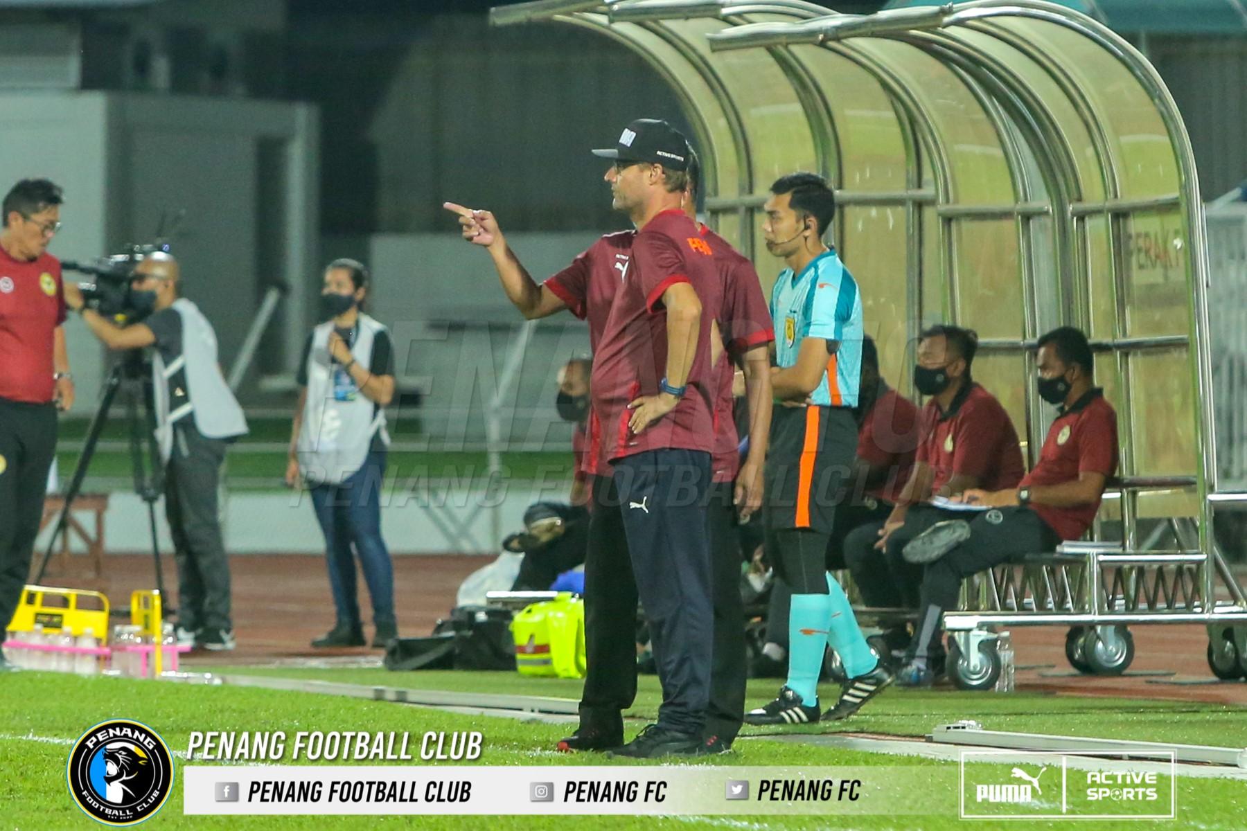 Tomas Trucha Penang fc Perak fc 2021 tidak gembira