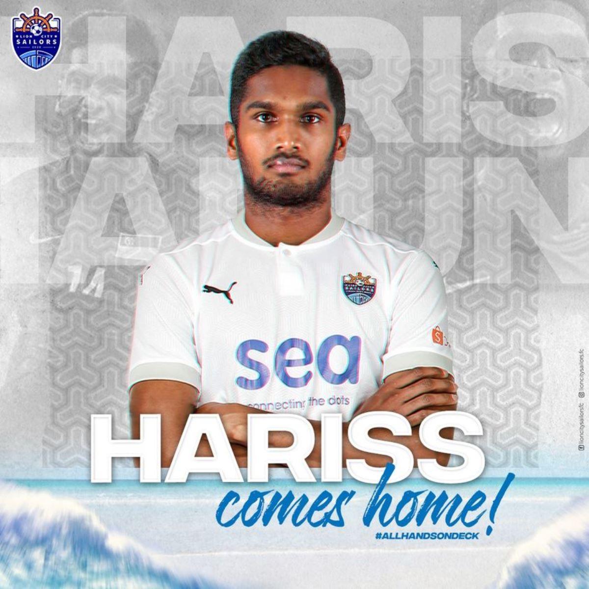 Hariss Harun JDT Lion City Sailors 2021 Kedah Piala AFC