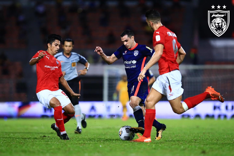 JDT KL City 2021 Masalah Permainan Benjamin Mora