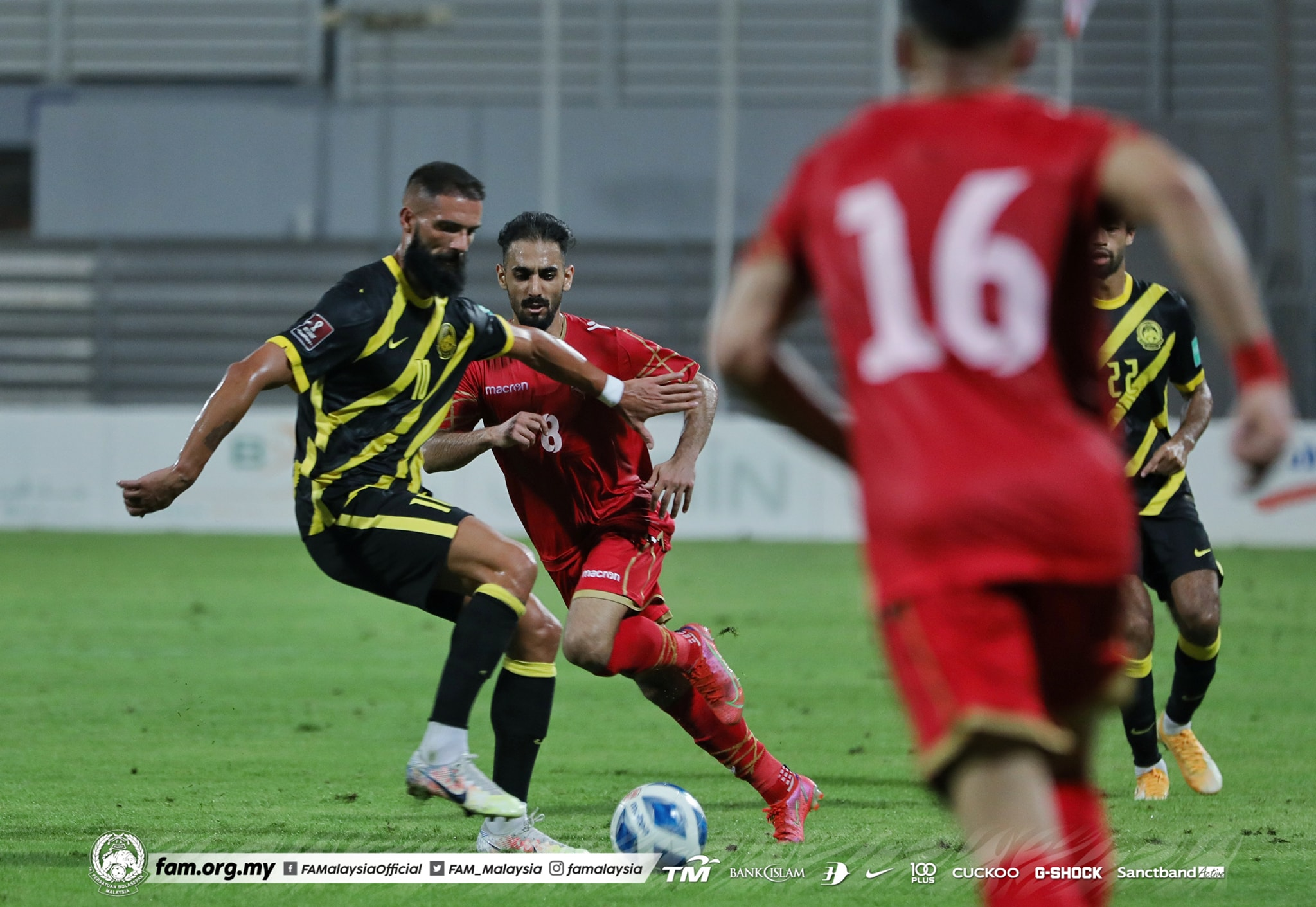 Liridon Krasniqi Malaysia Bahrain 2021