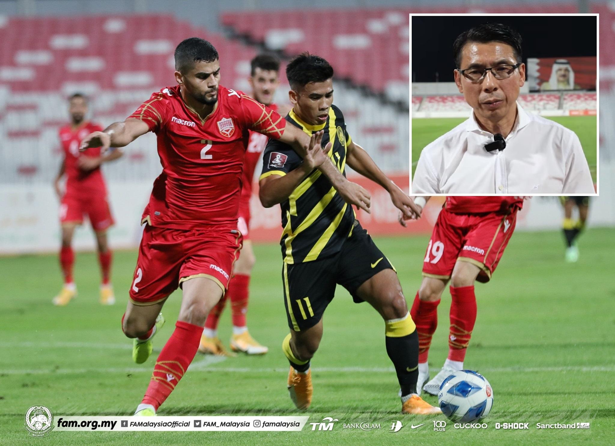 Safawi Rasid Malaysia Bahrain Persahabatan 2021 Tan Cheng Hoe Jaga Emosi
