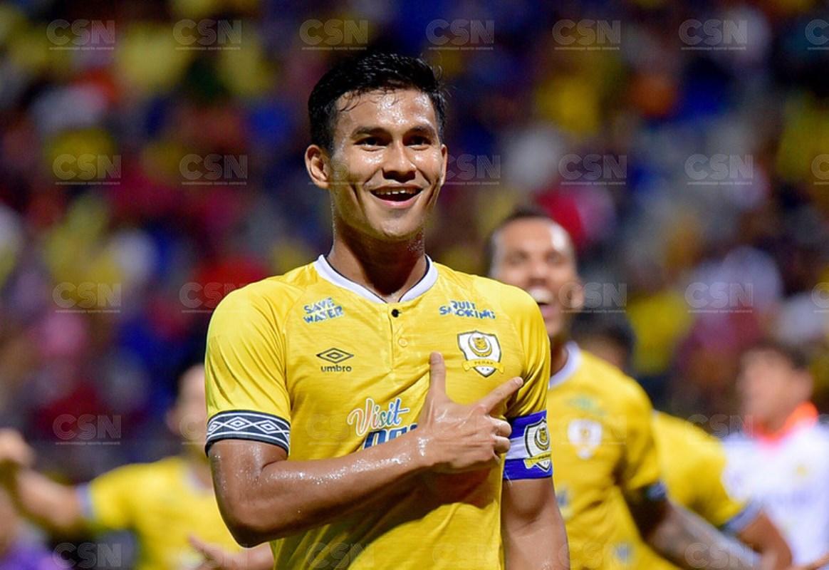 Shahrul Saad Perak FC 2021 JDT
