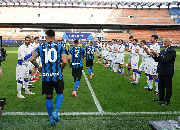Inter Milan Sampdoria Claudio Ranieri
