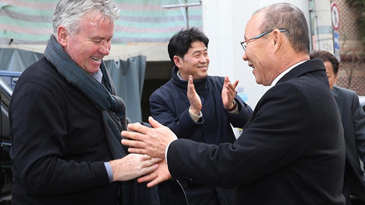Park Hang-seo Guus Hiddink kelayakan Piala Dunia 2021