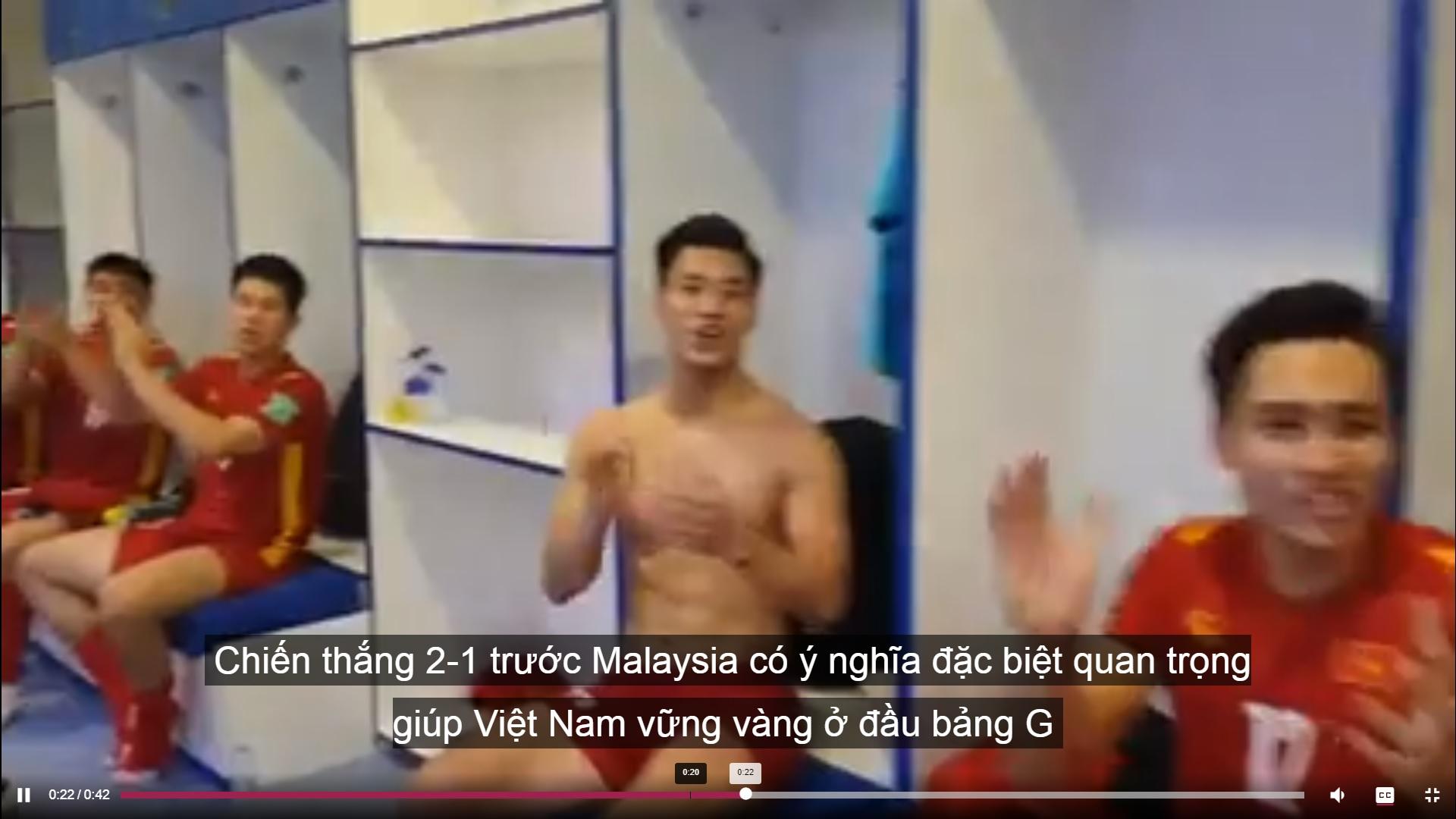 Pemain Vietnam rai menang Malaysia kelayakan Piala Dunia 2021