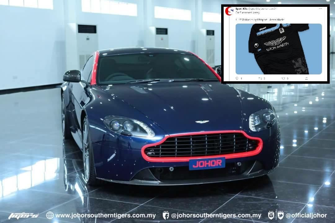 JDT Aston Martin 2018 hadiah TMJ