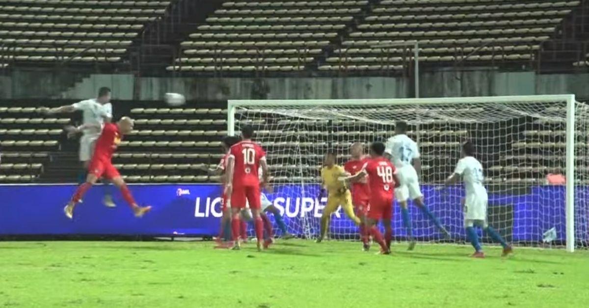 Casagrande gol Penang FC Sabah Liga Super 2021 A