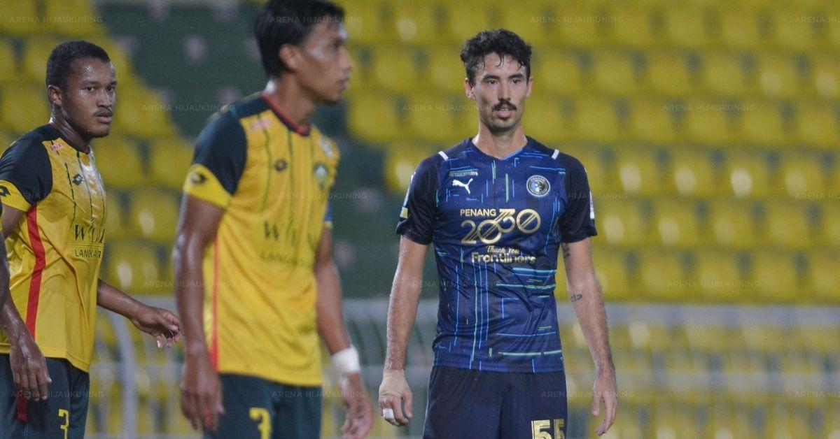 David Rowley Penang FC Kedah Liga Super 2021