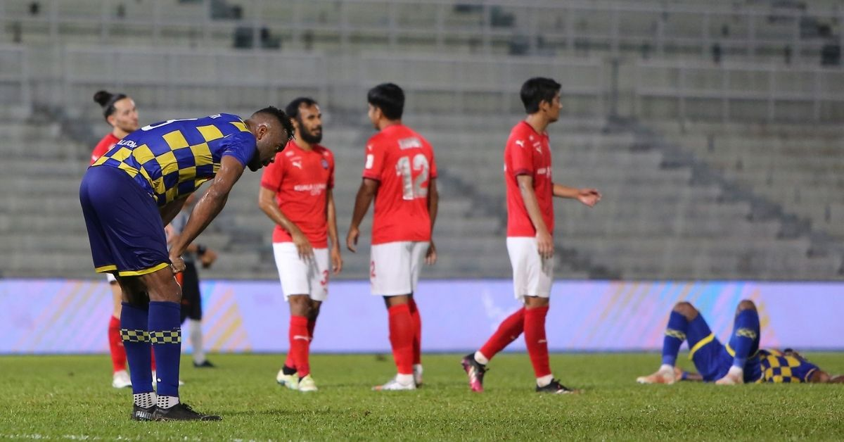 Herold Goulon Sri Pahang KL City Liga Super 2021 Dollah Salleh