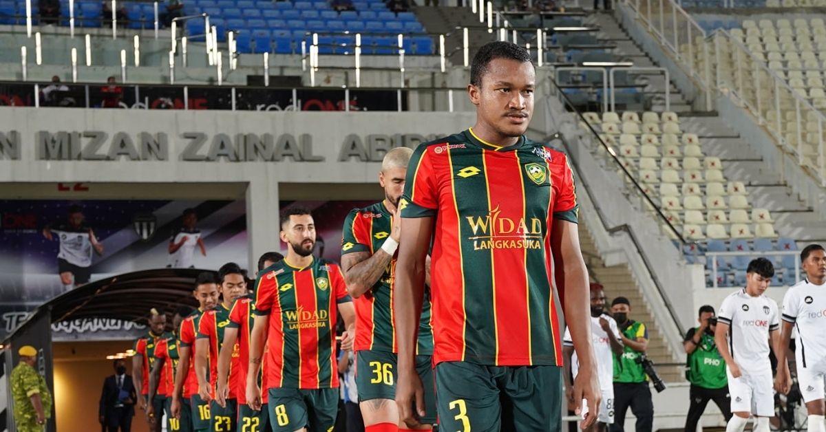 Rodney Calvin Kedah Terengganu Liga Super 2021 cedera