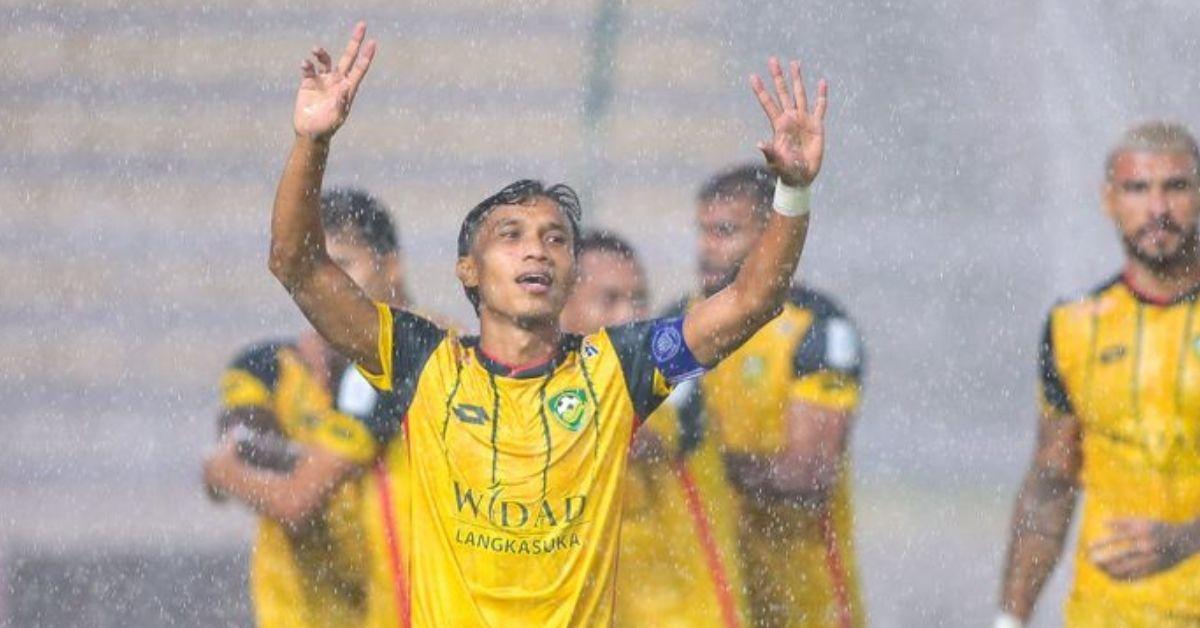 Baddrol Bakhtiar tujuh gol Kedah Melaka United bangkit kritikan
