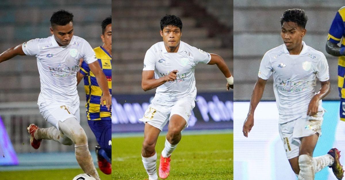 Gandingan serangan 3F Kedah Sri Pahang 2021