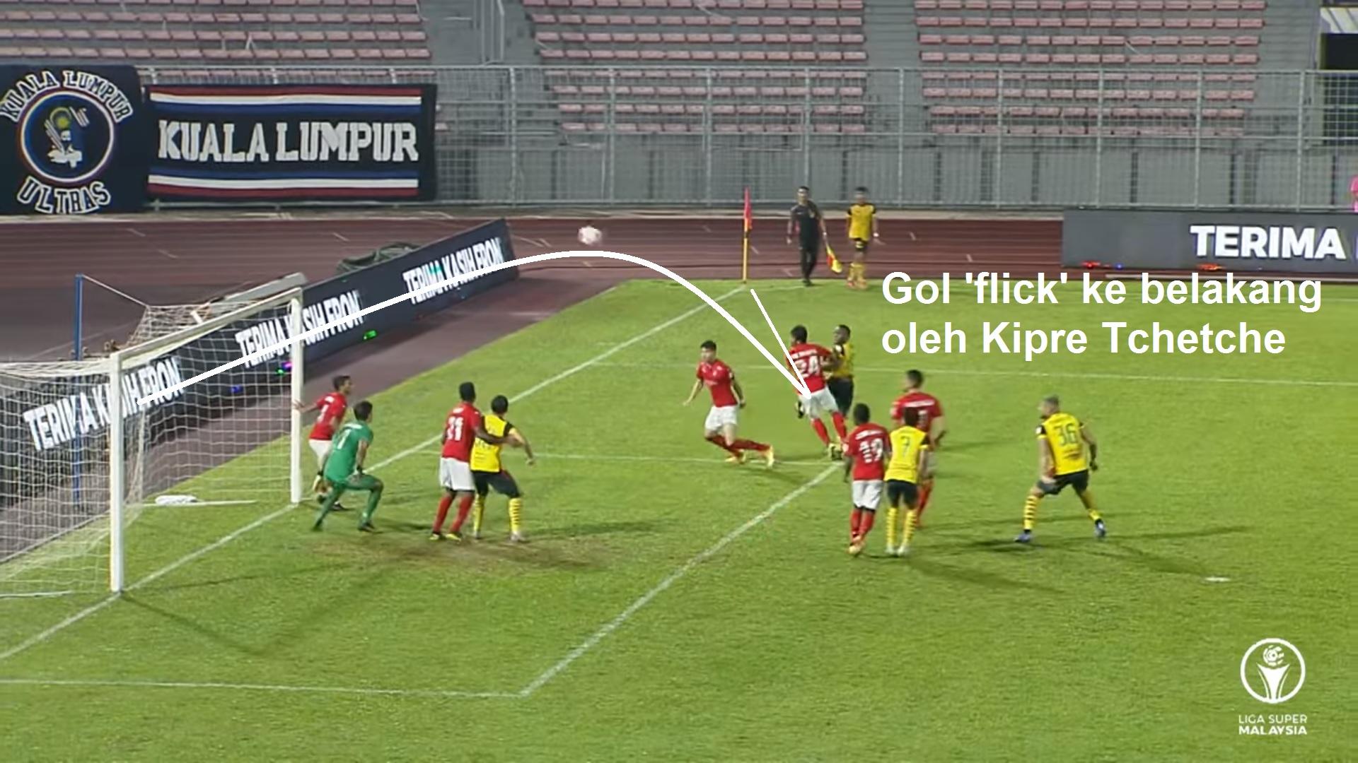 Kipre Tchetche gol pelik kata Bojan Hodak gembira