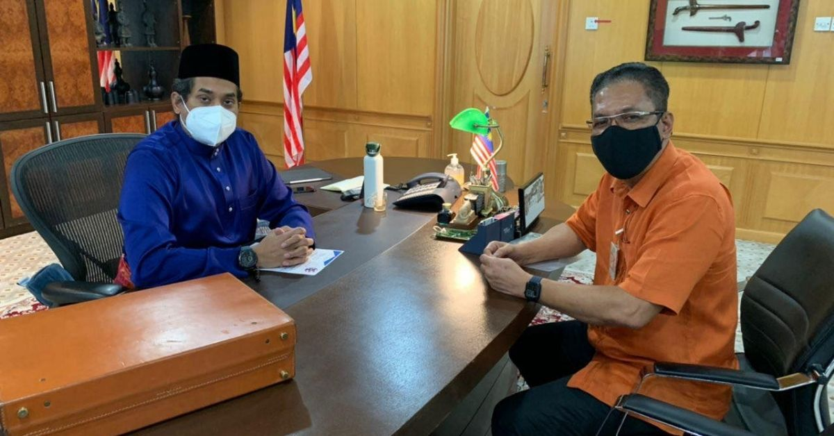 Menteri Kesihatan Khairy Jamaluddin Presiden MFL sektor sukan