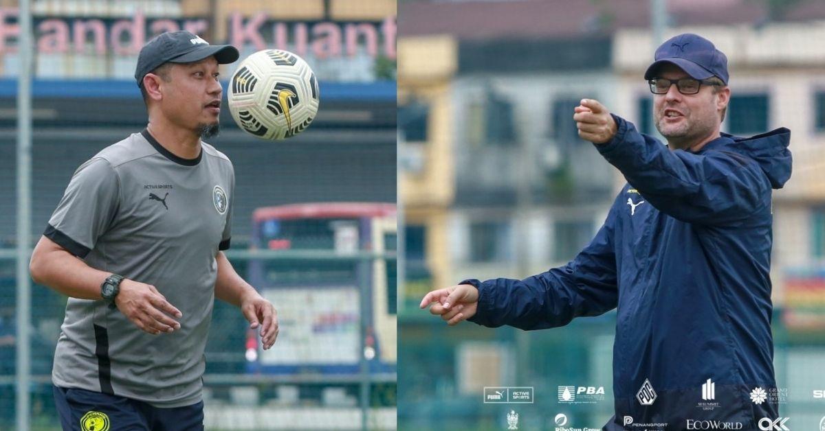 Tomas Trucha Manzoor Azwira Penang FC 2021