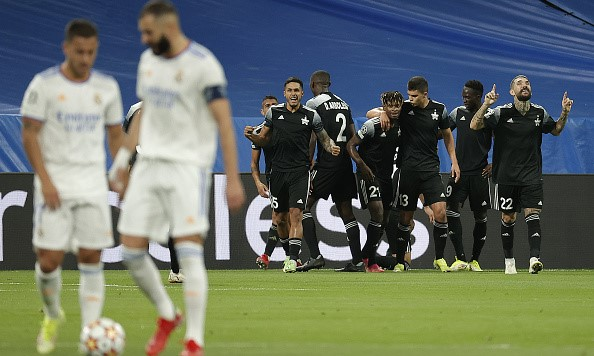 Sheriff Tiraspol Real Madrid Liga Juara-Juara Eropah