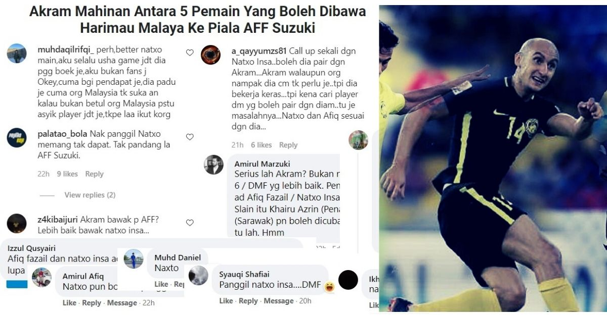 Natxo Insa Akram Mahinan Malaysia